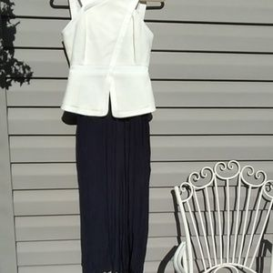 Club Monaco Maxi Skirt (Navy)